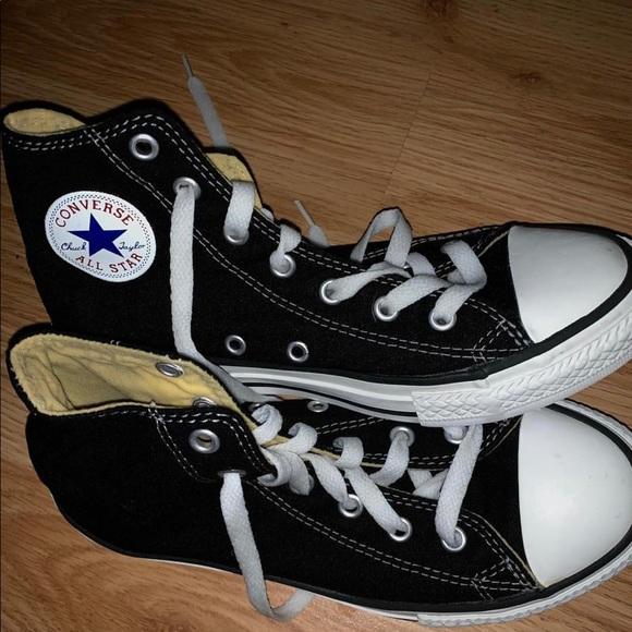 Converse Shoes | Black Hightop Converse